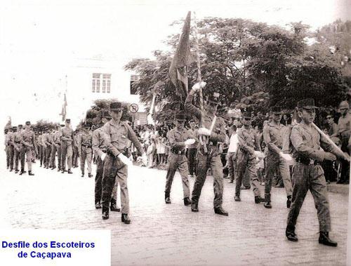 Desfile dos Escoteiros - Acervo Paulo Jair